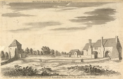 Ruins Of Faversham Abbey, W Stukeley, 1722